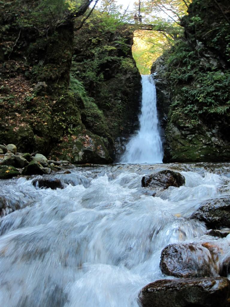 A waterfall at Okunikkawa, Miyagi Prefecture, Japan.
