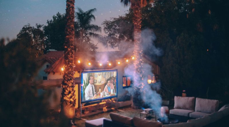 backyard camping family vacation