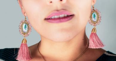 Pink Bold Earrings